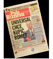"""Rok: 1997 - 14 stycznia - pierwsze wydanie """"Pulsu Biznesu"""""""