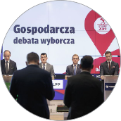 """Rok: 2019 - Wyborczy GPS """"Pulsu Biznesu"""""""